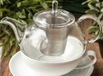 Filiżanka z dzbankiem  Nina do parzenia herbaty