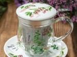 Filiżanka Ziołowy Ogród do parzenia herbaty