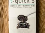 Filtry papierowe do herbaty