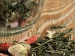 Herbata zielona - Truskawki w Szampanie