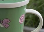 Kubek do parzenia herbaty Love Jam