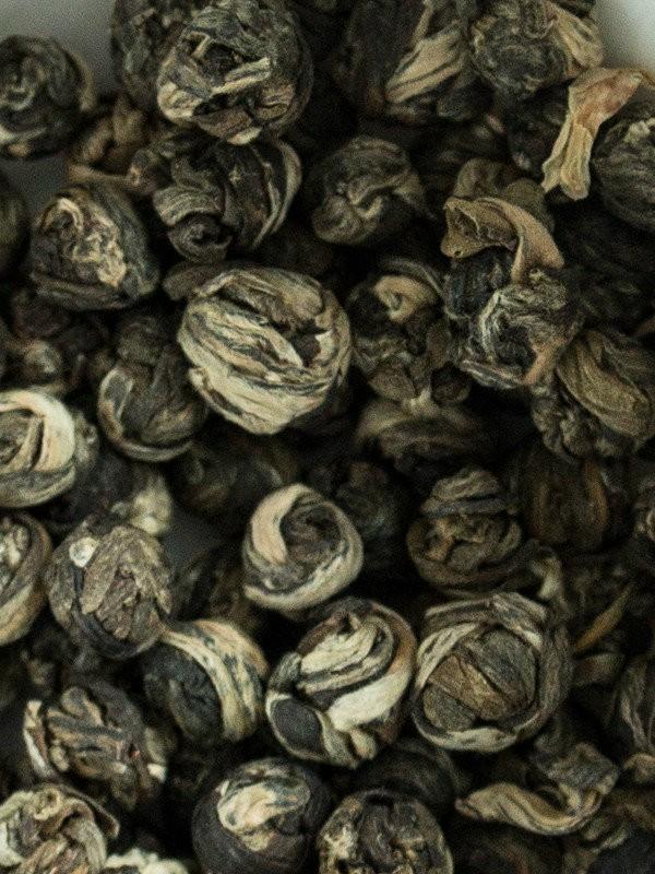 Herbata biała - China Jasmine Dragon Phoenix Pearls