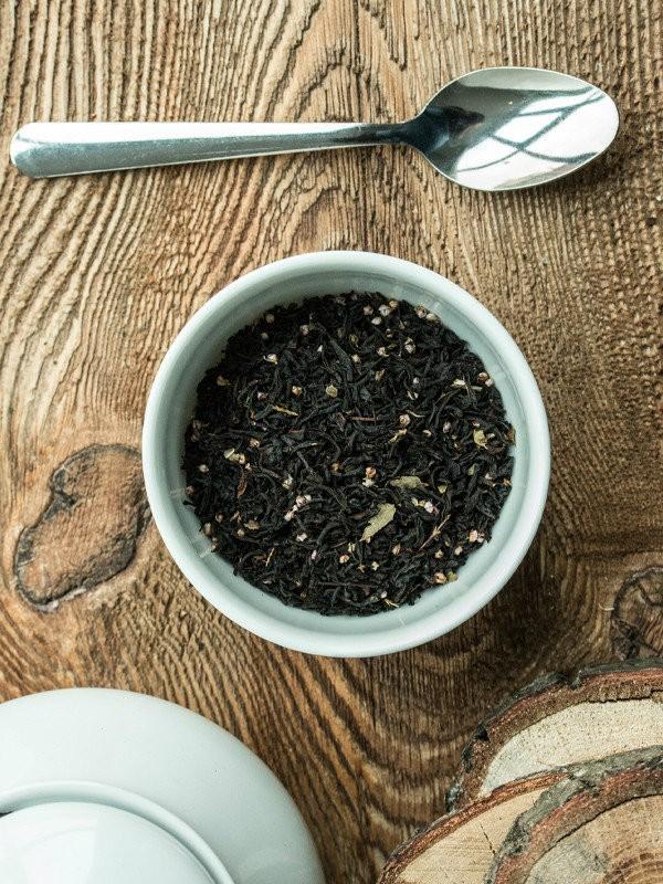 Herbata czarna -Czerwona i Czarna Porzeczka