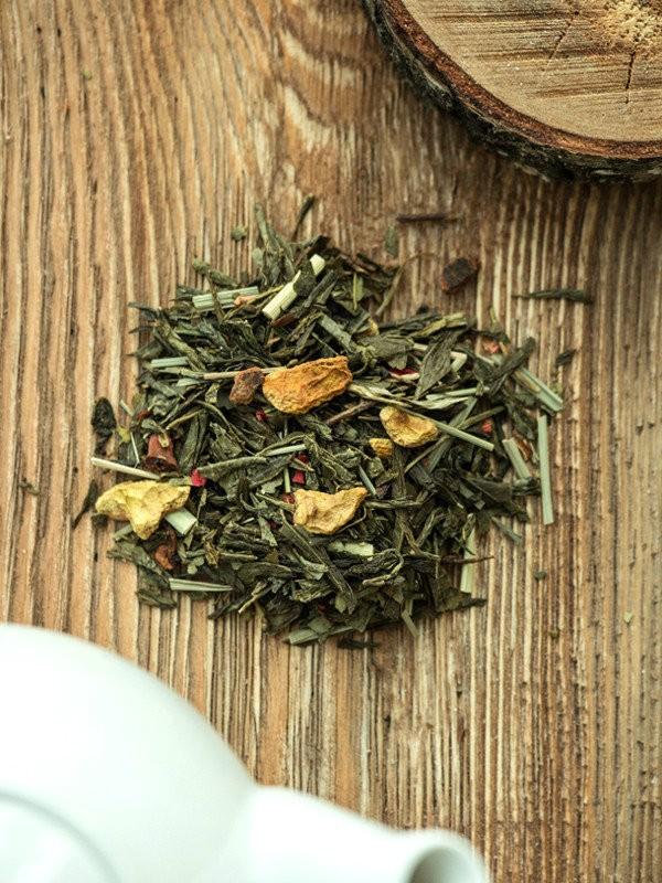 Herbata zielona - Moc Granatu