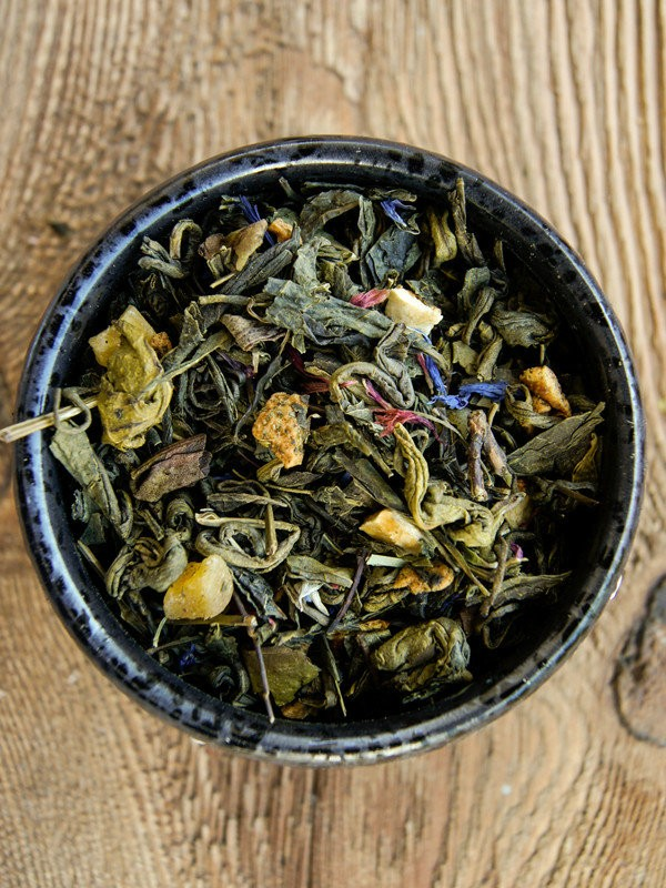 Herbata zielona - Pomarańczowa energia