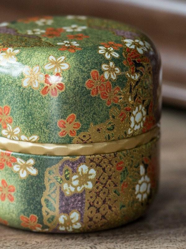 Puszka Nagano Green na herbatę